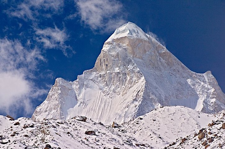 Shivling, North Face